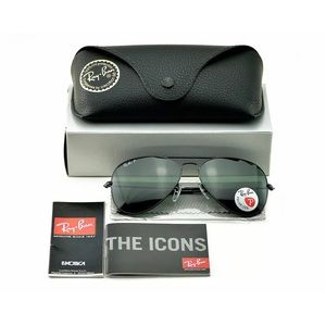 Ray-Ban Aviator Classic Black POLARIZED RB3025